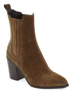 Marc Fisher Womens Ialisa Leather Pointed Toe Mid-calf Fashion Boots.