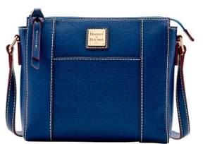 Dooney & Bourke Saffiano Lexington Crossbody Shoulder Bag - MARINE - STYLE