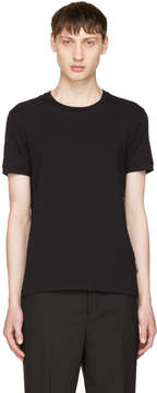 Dolce & Gabbana Black Pure R-Neck T-Shirt