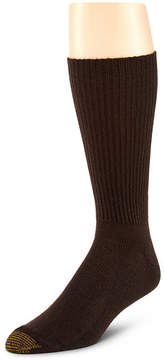 Gold Toe 3-pk. Fluffies Casual Acrylic Crew Socks- Extended Sizes