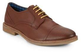 Ben Sherman Leon Perforated Leather Oxfords