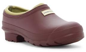 Hunter Gardener Clog