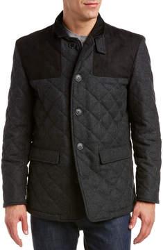 Hart Schaffner Marx Shooter Wool-Blend Jacket