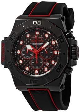 Invicta Akula Chronograph Black Dial Men's Watch