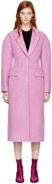 3.1 Phillip Lim Pink Long Tailored Coat