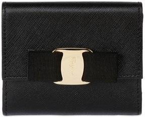 Salvatore Ferragamo French Saffiano Leather Wallet