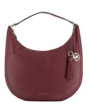 Michael Kors Red Leather Shoulder Bag - RED - STYLE