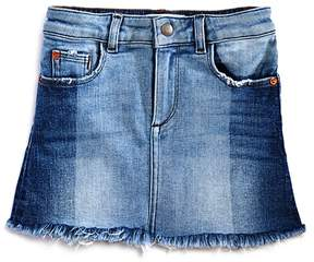 DL1961 Girls' Jenny Contrast-Wash Denim Skirt - Little Kid