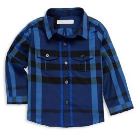 Burberry Baby's & Toddler's Plaid Cotton Shirt
