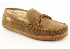 BearPaw Moc Moc Toe Suede Slipper.
