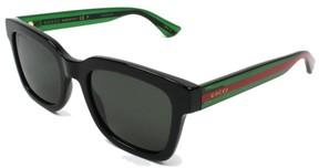 Gucci Polarized Black Mens Sunglasses - GG0001S-006