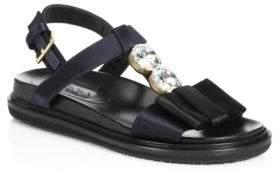 Marni Fussbett Slingback Sandals