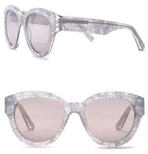 Elizabeth and James Atkins Retro 55mm Round Sunglasses