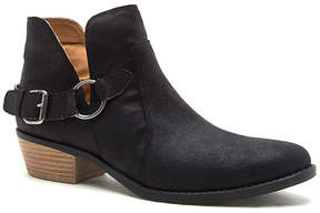 Qupid Black Sochi Ankle Boot - Women