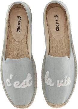 Soludos C'Est La Vie Smoking Slipper Women's Flat Shoes