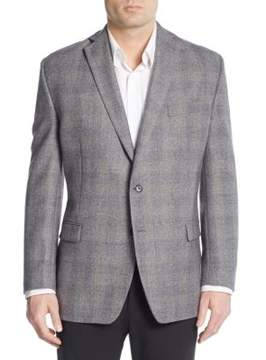 Lauren Ralph Lauren Regular-Fit Check Wool Sportcoat