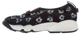 Christian Dior Fusion Bead-Embellished Sneakers