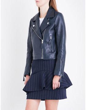 Claudie Pierlot Castel leather jacket