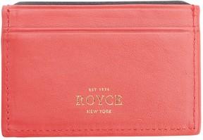 Royce Leather Royce New York RFID Executive Credit Card Case
