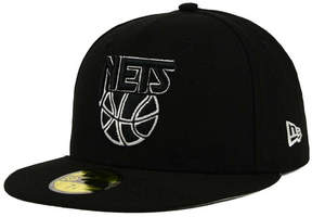 New Era New Jersey Nets 2-Tone Basic 59FIFTY Fitted Cap