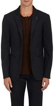 John Varvatos Men's Checked Cotton-Blend Hook & Bar Sportcoat