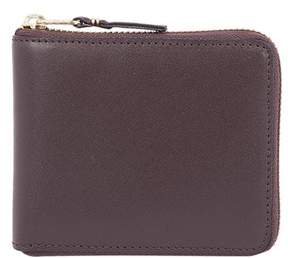 Comme des Garcons Men's Brown Leather Wallet.