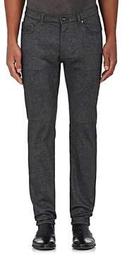 John Varvatos Men's Chelsea Slub-Weave Skinny Jeans