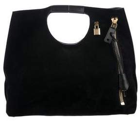 Tom Ford Suede Alix Satchel