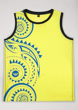 Armani Junior Tribal Print Vest