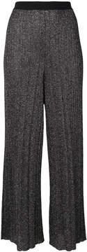 Diesel metallic cropped trousers
