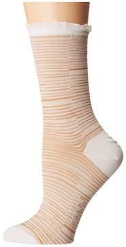 Falke Bath Stripe Sock Women's Crew Cut Socks Shoes