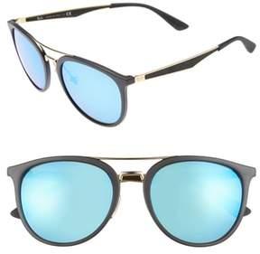 Ray-Ban Men's 55Mm Retro Sunglasses - Black Blue