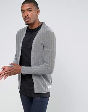 Tom Tailor Open Drape Cardigan In 100% Cotton