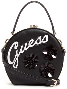 GUESS Britta Embellished Round Mini Satchel