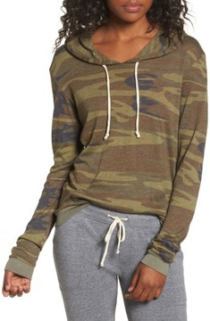 Alternative Women's Camo Print Pullover Hoodie