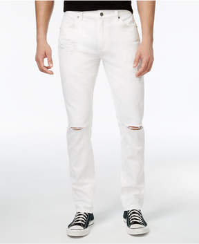 American Rag Men's White Ripped Jeans, Created for Macy's