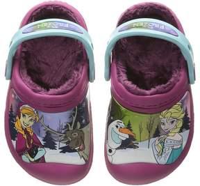 Crocs Frozen Lined Clog (Toddler/Little Kid)