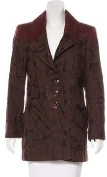 Christian Lacroix Wool-Blend Short Coat