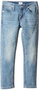 Hudson Jagger Slim Straight Five-Pocket in Plaster Wash Boy's Jeans