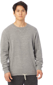 Alternative Apparel Courtside Eco-Fleece Crew Sweatshirt