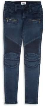 Hudson Girl's Moto Skinny Jeans
