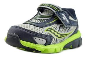 Saucony Baby Ride 6 W Round Toe Leather Sneakers.