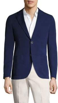 Saks Fifth Avenue x Traiano COLLECTION Stretch Garment-Dyed Blazer