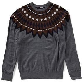 Murano Nordic Intarsia Crew Sweater
