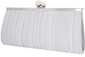 Nina Pleated Frame Clutch.
