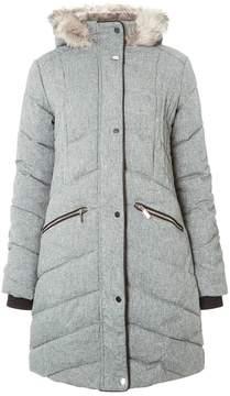 Dorothy Perkins **Tall Grey Smart Puffer Jacket