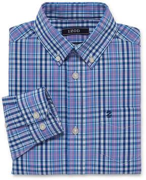 Izod Stretch Boys Woven Shirt 8-20 - Reg