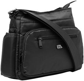 Midnight Black Shimmy Crossbody Bag