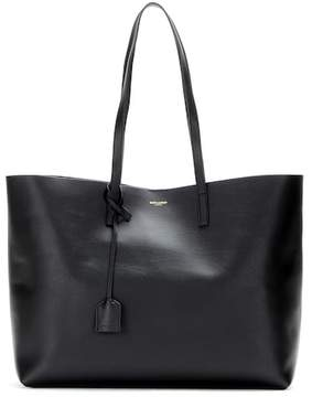 Saint Laurent Leather shopper - BLACK - STYLE