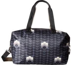 Orla Kiely Buttercup Stem Printed Zip Holdall Handbags